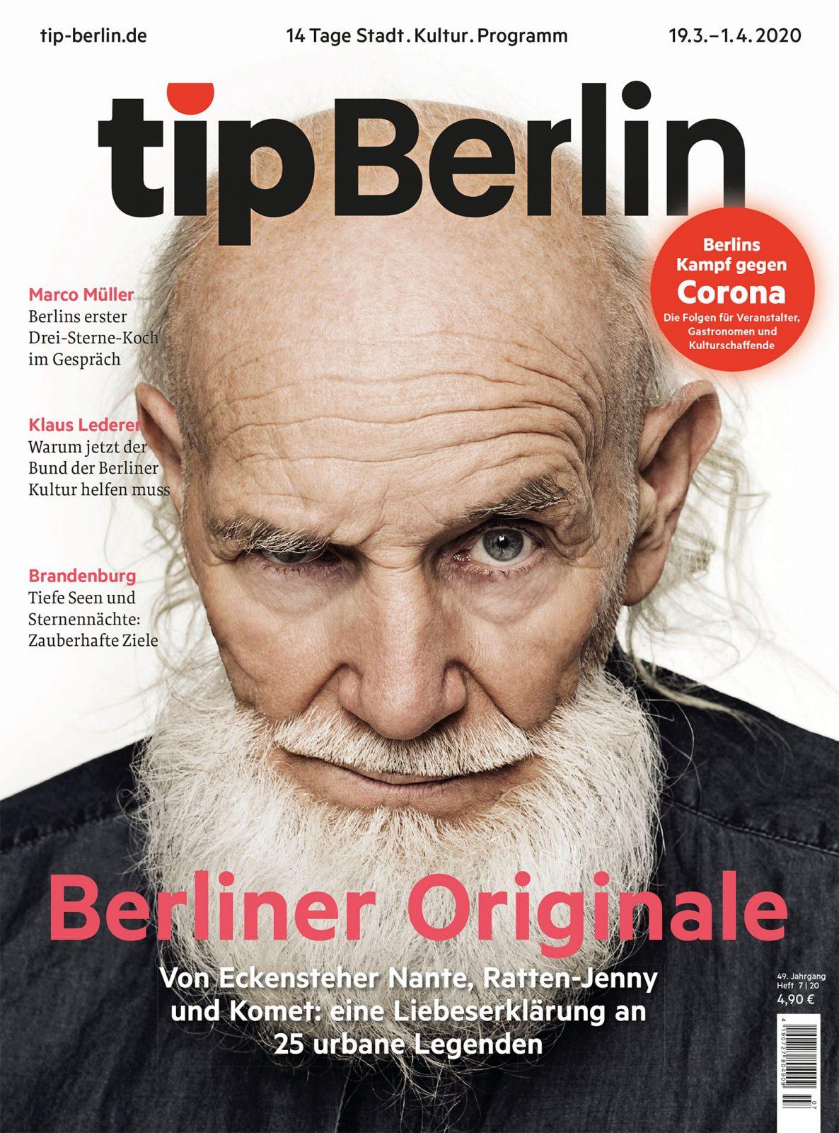 Im aktuellen tip Berlin porträtieren wir 25 urbane Exzentriker*innen, die die Stadt zu ihrer Bühne gemacht haben. Foto: Patrice Brylla