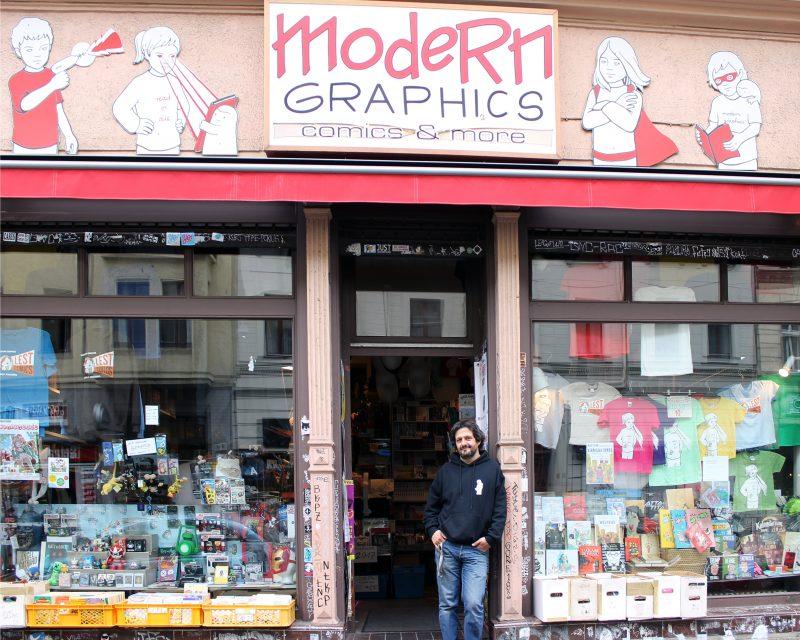 Modern Graphics, Foto: Tamara Dauenhauer