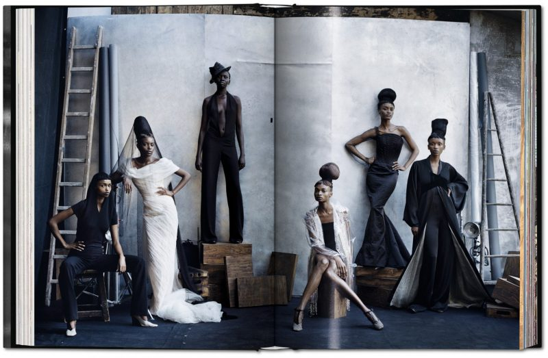 Aus Peter Lindbergh. A Different Vision on Fashion Photography