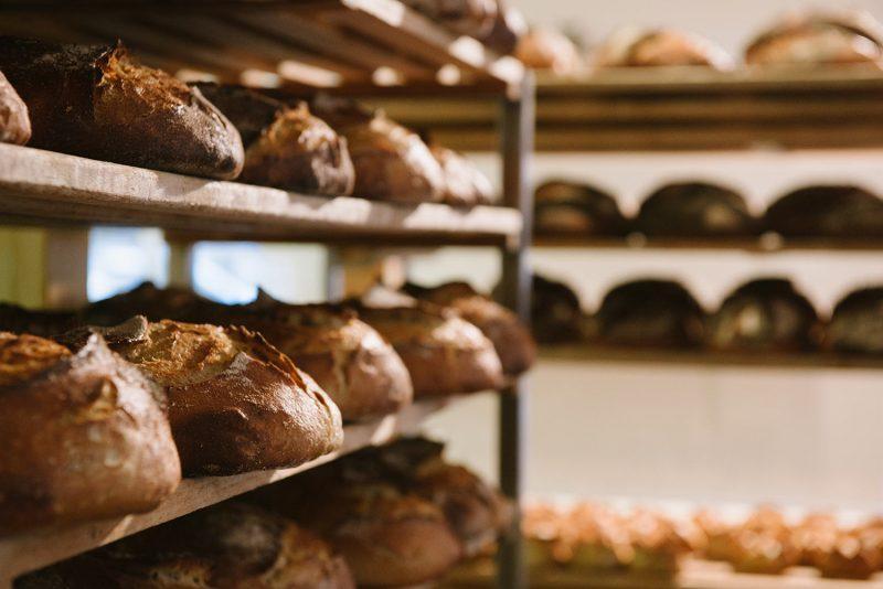 24 Stunden lang dürfen die Brotteige im Domberger Brot-Werk arbeiten, bevor sie in den Ofen kommen und knusprig gebacken werden.