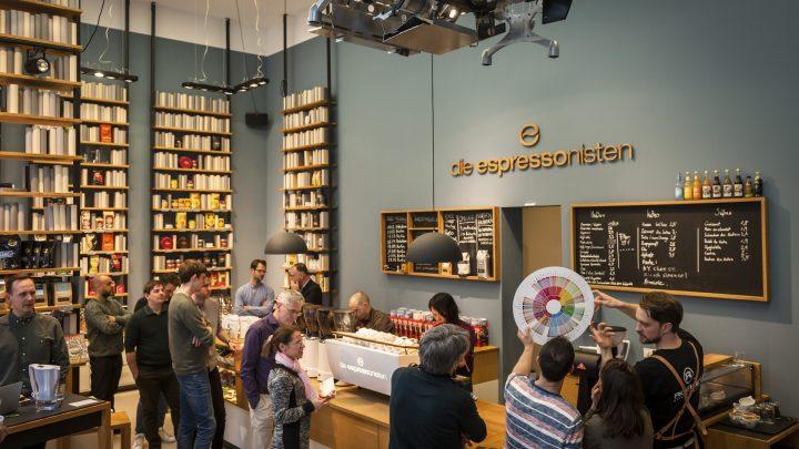 Event, Kaffee ist Kunst, In 80 Espressi um die Welt, Kaffeeblindverkostung, Die Espressonisten, Berlin