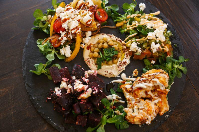 Essen in Prenzlauer Berg: Im Kanaan gibt es vegan-vegetarische, israelisch-palästinensische Küche.