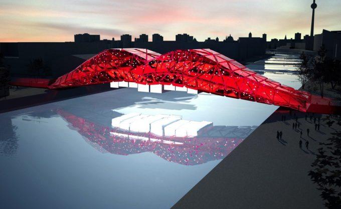 The Grobe Architekten redesign of Brommybrücke over the Spree (Photo: grobe-architekten)