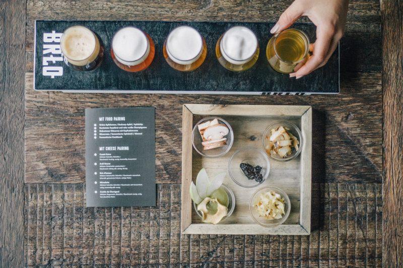 Das Restaurant und Biergarten BRLO in Berlin ist wieder offen.