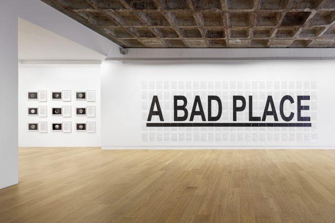 Installationsansicht Art & Language Devinera qui pourra (Figure it out who can) Galerie Michael Janssen April 2019 © Lepkowski Studios, Berlin