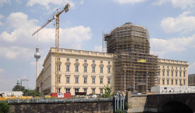 26.06.2019, Berlin/Mitte. Humboldt Forum - Schloss. *** 26 06 2019, Berlin Mitte Humboldt Forum Castle
