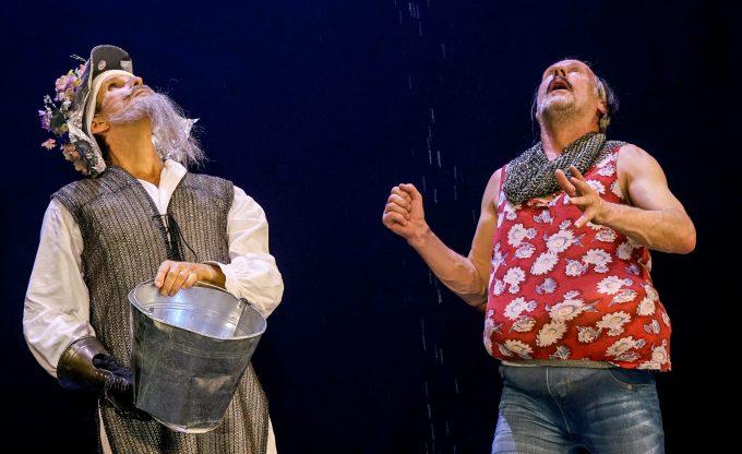 Don Quijote von Jakob Nolte nach Miguel de Cervantes Regie: Jan Bosse, Deutsches Theater