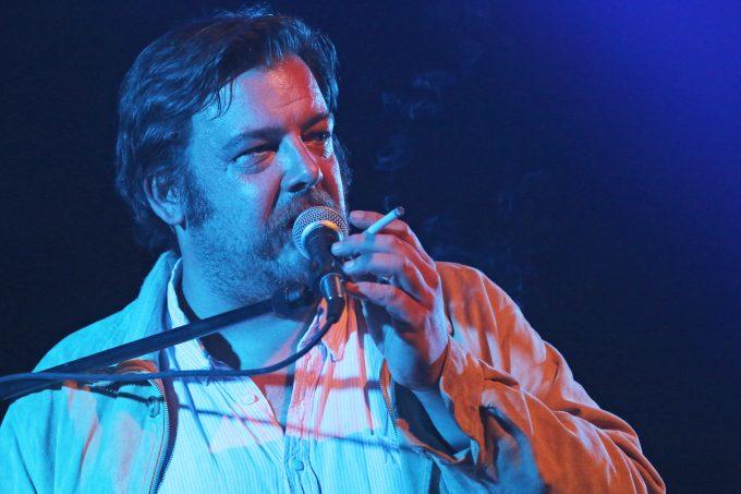 Carsten Meyer (Erobique) beim Zelt-Musik-Festival in Freiburg im Breisgau am 16. Juli 2016.