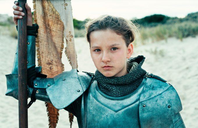Lise Leplat Prudhomme als 19-jährige Jeanne d'Arc