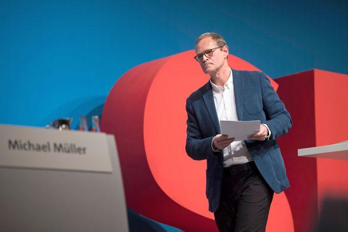 Seit 1981 SPD-Mitglied, 2001-11 Fraktionsschef im Abgeordnetenhaus: Michael Müller hat viel Erfahrung, Foto: imago images/IPON
