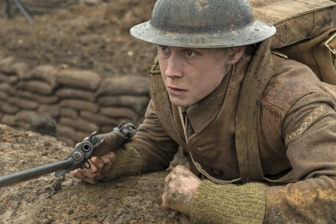 George MacKay as Schofield in 1917, the new epic from OscarÆ-winning filmmaker Sam Mendes.