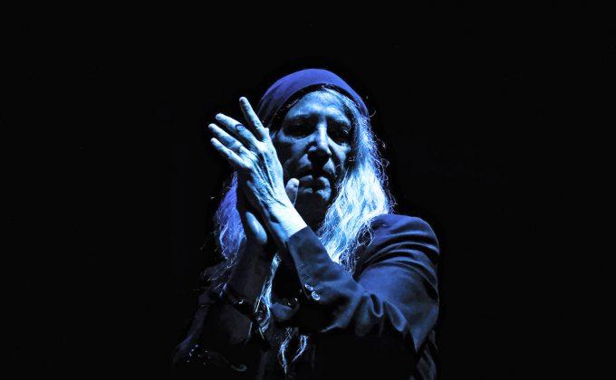 Auch mit 73 Jahren noch lebendiger als mancher Nachwuchsstar: Patti Smith. Foto: imago images / GlobalImagens