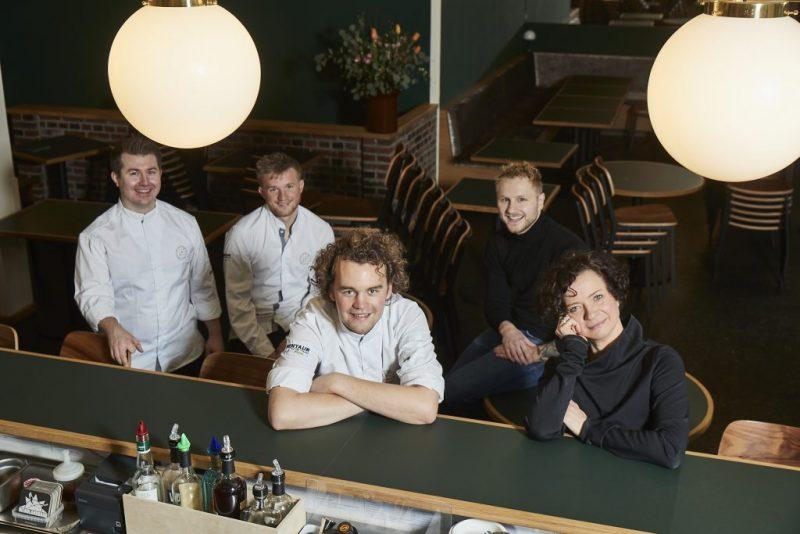 Claudia Steinbauer und ihr Team vom Restaurant Klinker