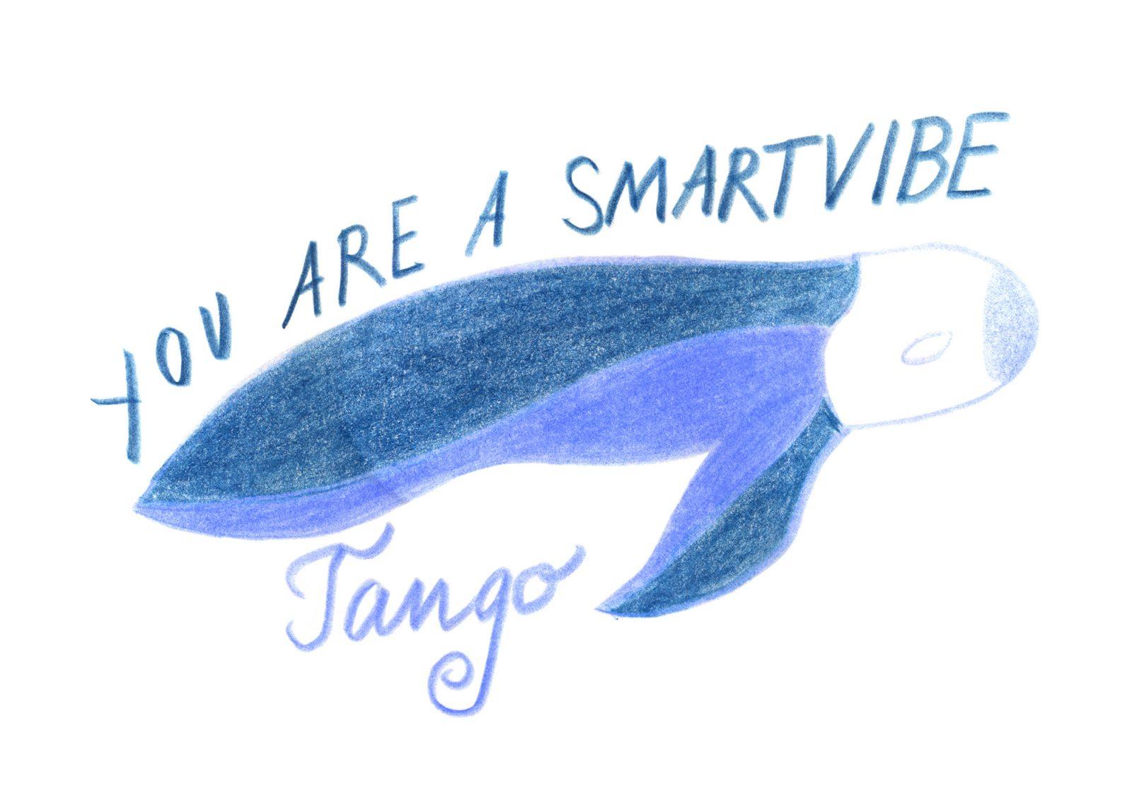 """Zeichnung """"Tango Smartvibe"""" von Tabea Blumenschein"""