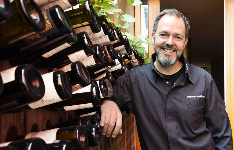 Micheln-Stern für Marco Müllers Weinbar Rutz - es ist der Dritte.