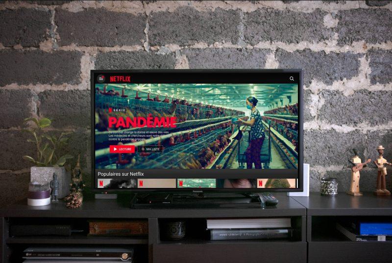 """Netflix und Corona. Der Konzern hat eine """"Bremse"""" angekündigt, dadurch wird das Streamen von Filmen und Serien in schlechterer Qualität erfolgen."""
