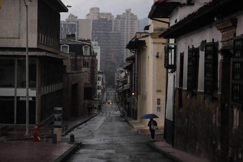 Bogotá ist wie ausgestorben. Alle Läden sind zu. Die Straßen sind leer.