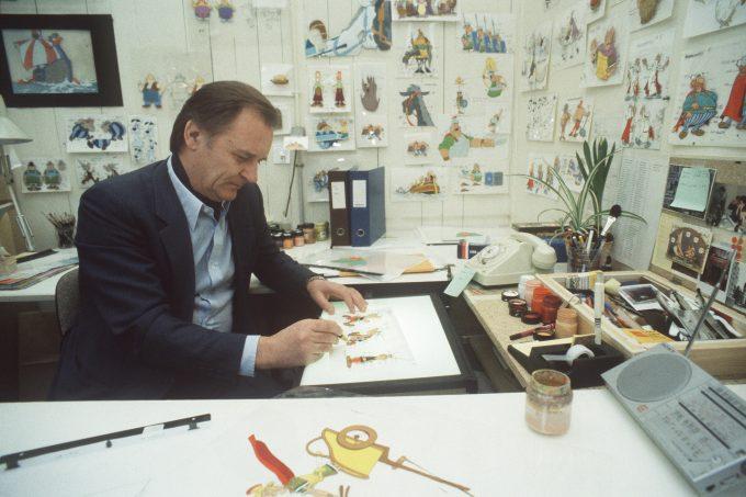 Asterix Zeichner Albert Uderzo