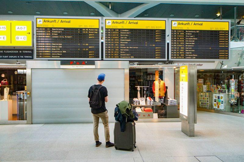 Es ist einsam geworden im Flughafen Tegel – muss er früher schließen? Foto: Imago/Zeitz