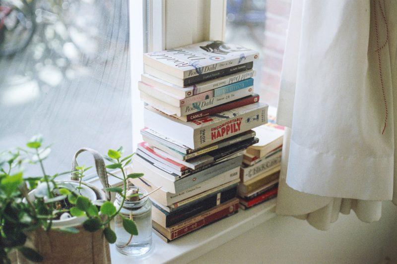 Bücher können während der Corona-Isolation gelesen werden