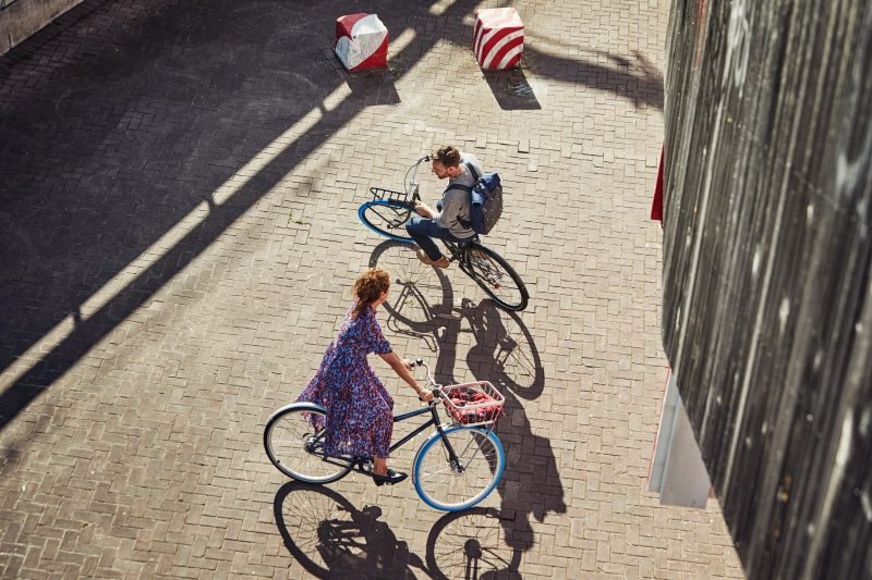 Mietbike in Berlin sind eines der Verkehrsmittel der Stunde.