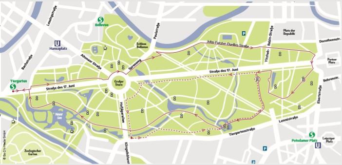 Die schönsten Laufstrecken Berlins: Der Tierpark bietet sich an für Lauf-Anfänger*innen und Profis.