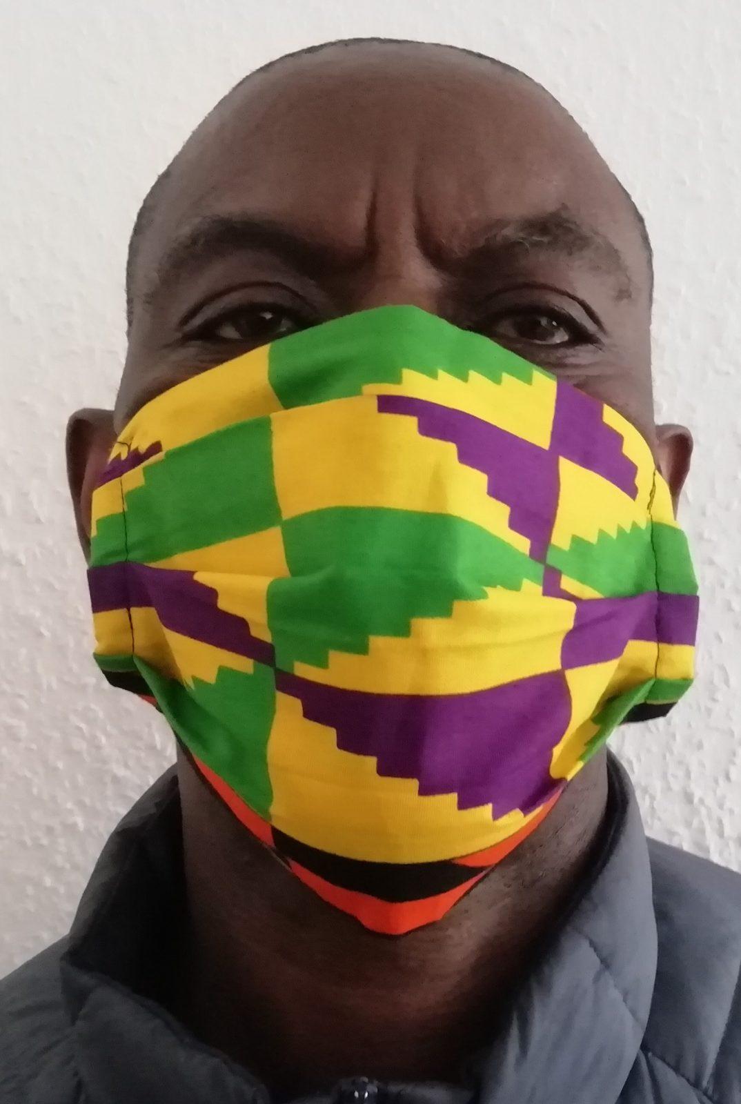 Eine Maske ist nicht gleich Mundschutz. Manche Masken sind schick, lokal und modisch.