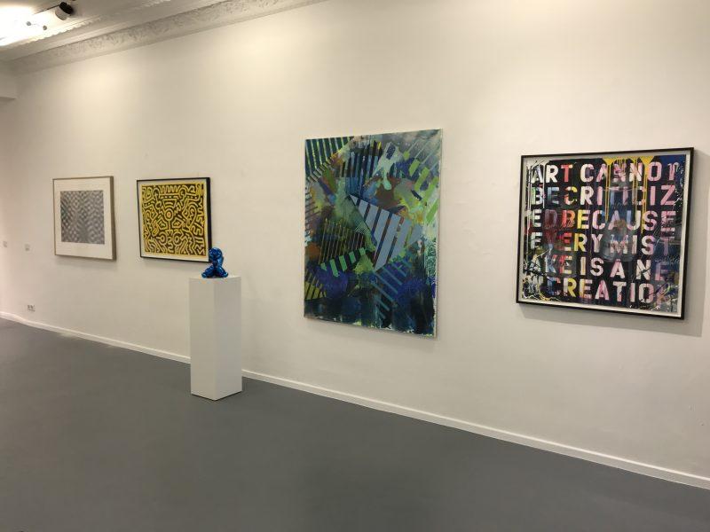 Blick in die Galerie Artes Berlin. Die Räume sind wieder geöffnet. Foto: Artes Berlin