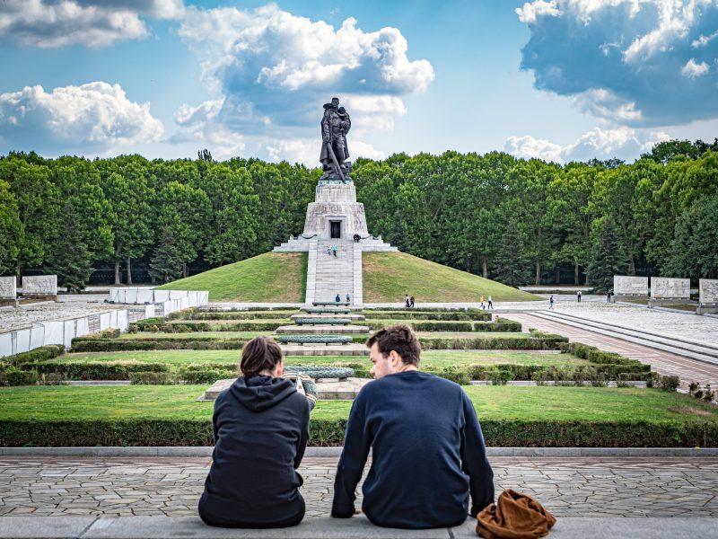 Das Sowjetische Ehrenmal im Treptower Park wurde zwischen 1946 und 1949 errichtet. Foto: Imago/Ritter