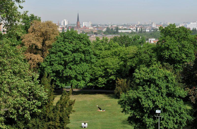 Die schönsten Laufstrecken Berlins: Allein der Blick über die Stadt macht die Strecke durch den Viktoriapark zu einem der bsten Lauf-Spots der Stadt.
