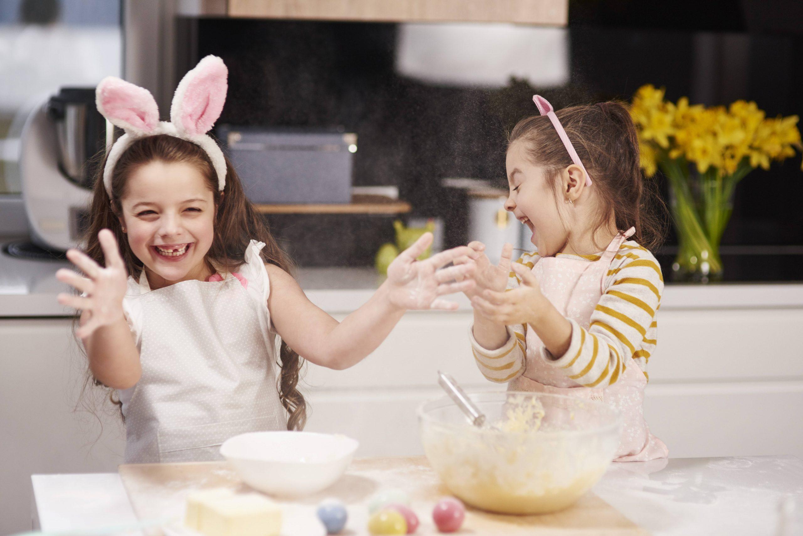 Familie Besuchen über Ostern