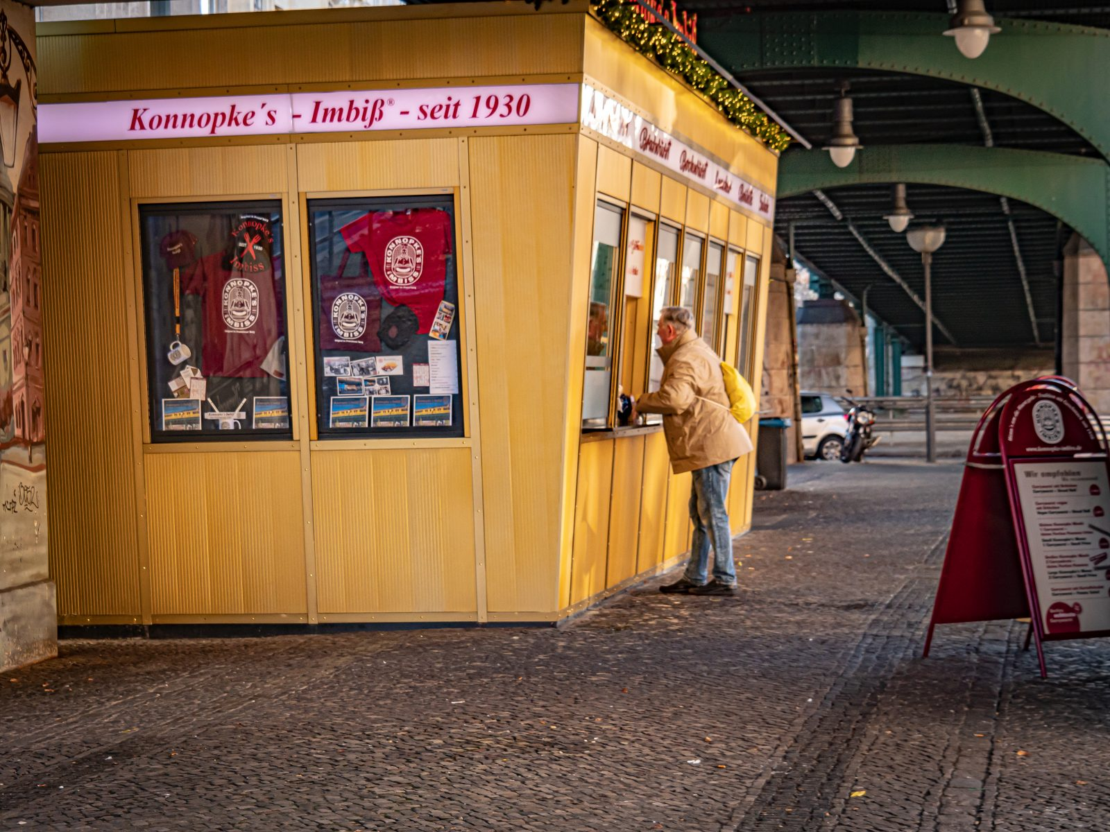 Imbisse in Berlin Konnopke