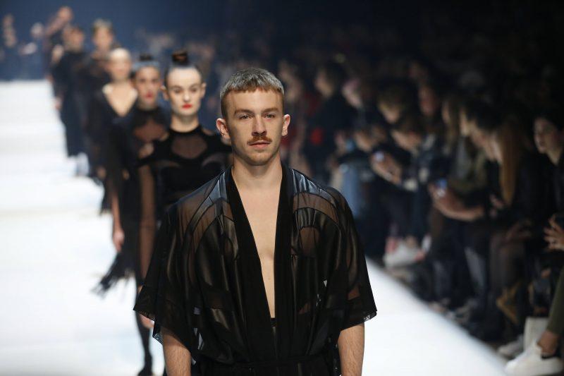 Viele Berliner Modelabels haben weltweit Erfolg – DTMS zeigt die Kollektion hier auf der Fashion Week in der Hauptstadt. Foto: Imago/Pacific Press Agency