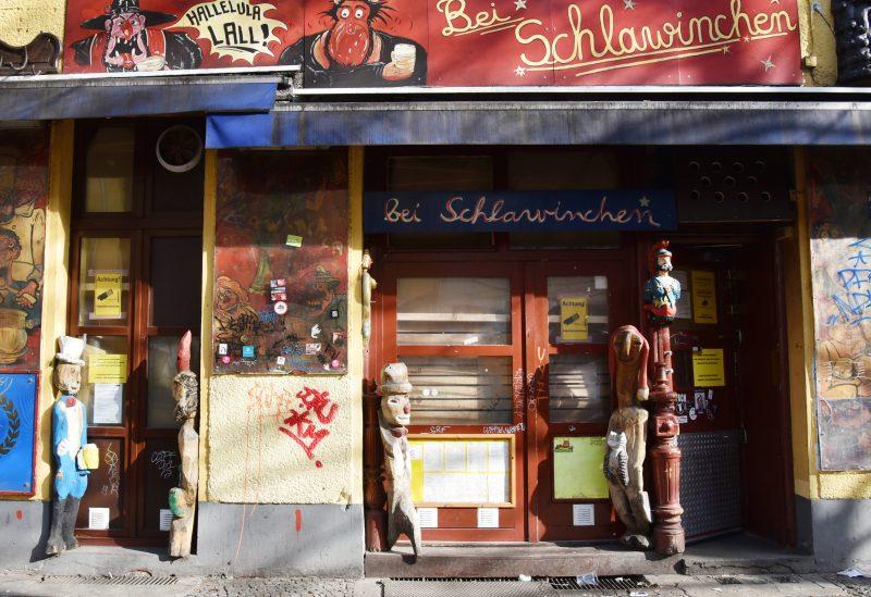 Die 24 Stunden Kneipe Schlawinchen in der Schönleinstraße musste wegen dem Corona ebenfalls schließen.