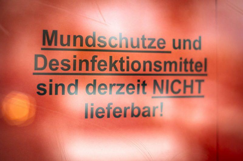 Der deutschlandweite Mundschutz-Mangel wird immer mehr zum Problem.
