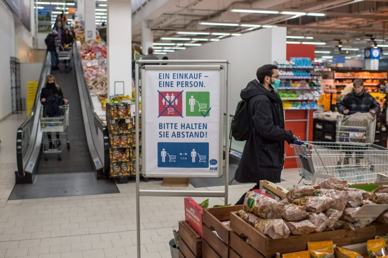 Große Supermärkte