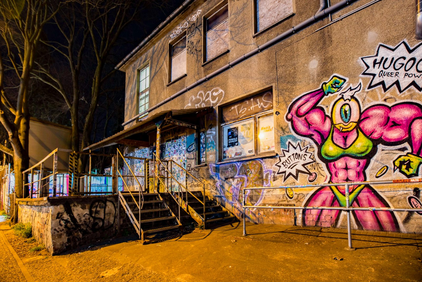 Clubs in Berlin Atonal 20 und 20 Years of Bipolar mit Lost Art ...