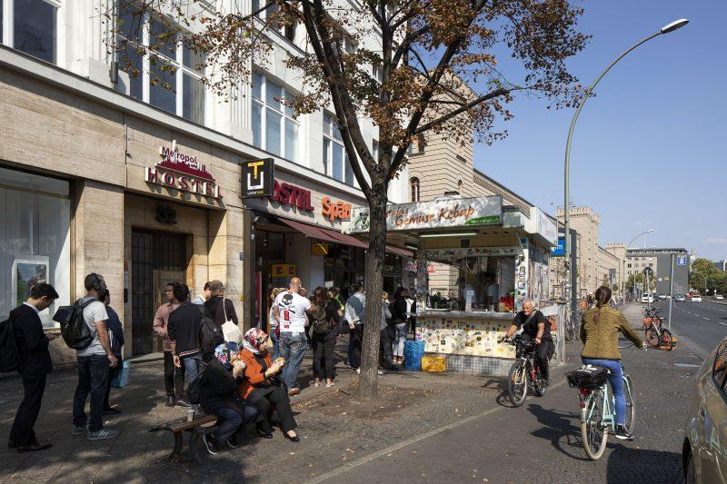 Mustafas Gemüse Kebap. Döner ist eine Berliner Spezialität.
