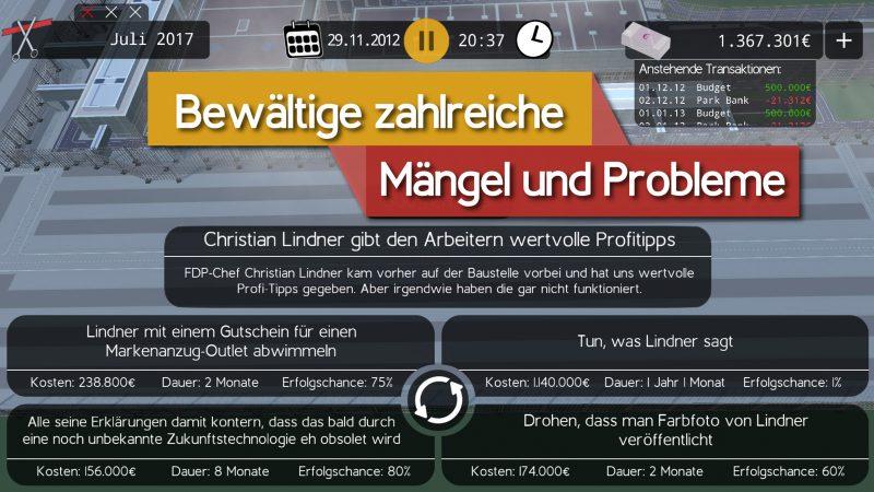 """Die Qual der Wahl: """"Der Postillon"""" hat für die FDP nicht viel übrig. Foto: Der Postillon"""