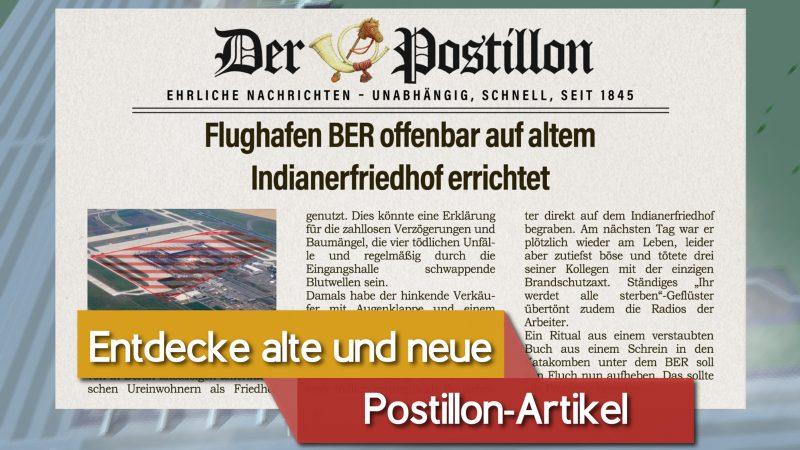 """""""Der Postillon"""" teilt mit dem Game auch seine Satire-Artikel. Foto: Der Postillon"""