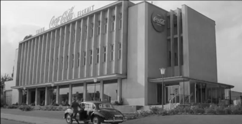 Als die Bänder noch liefen: Die Berliner Coca-Cola-Zentrale im Film.
