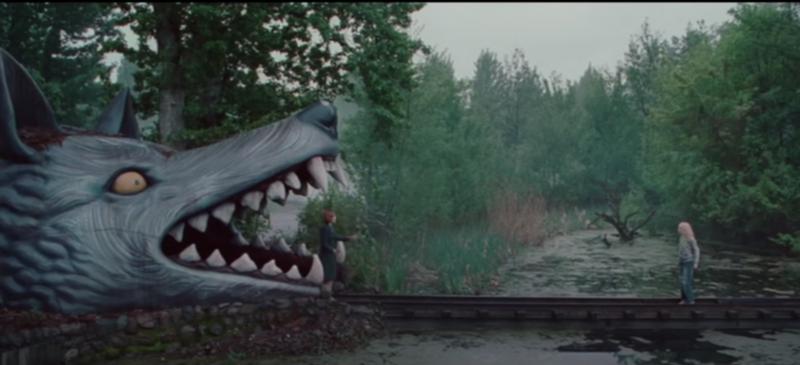 Das Finale wurde an einem gespentischen Drehort in Berlin gefilmt: der Spreepark.