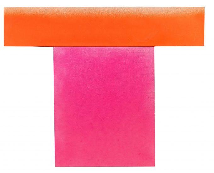 Rupprecht Geiger (1908 – 2009) 756/8, 1982 WV 725 Acryl auf Leinwand 80 x 100 cm Provenienz: Privatsammlung München