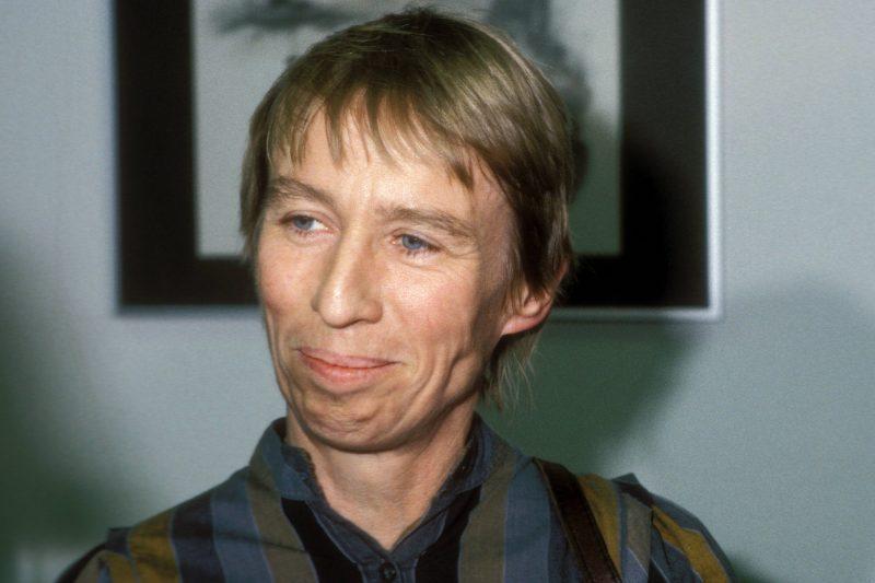 Berühmte Berliner: Die SPD-Politikerin und damalige Arbeitsministerin Regine Hildebrandt im Juli 1990.