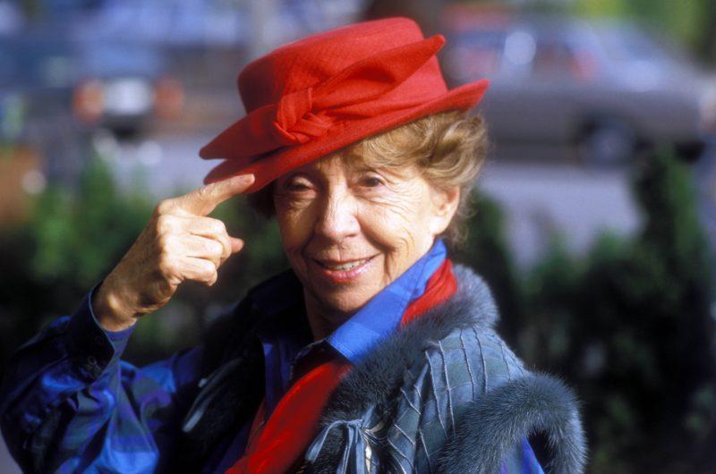 Inge Meysel, Porträt um 1997.