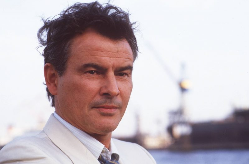 Berühmte Berliner: Horst Buchholz, Porträt aus dem Jahr 1985.
