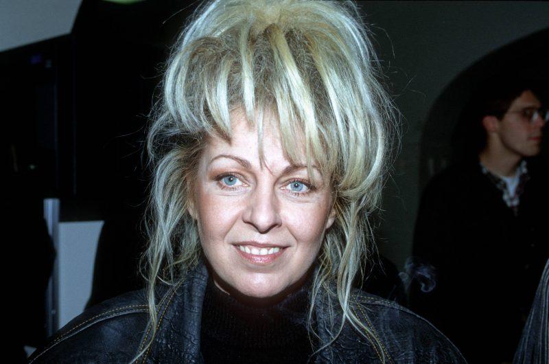 Die Sängerin der DDR-Rockband Silly, Tamara Danz. Aufnahme von 1992.