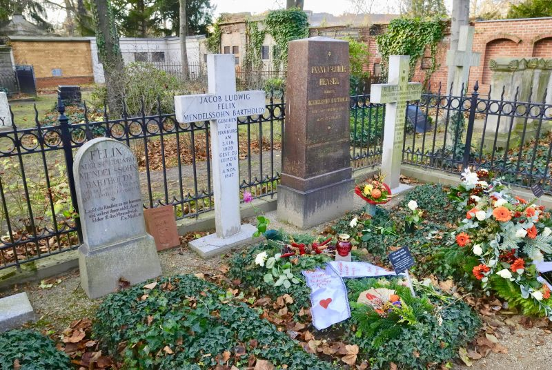 Grab von Felix Mendelssohn Bartholdy