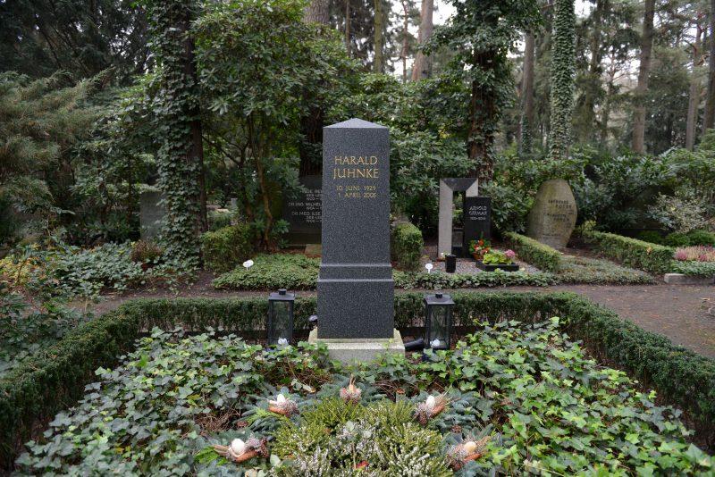 Berühmte Gräber in Berlin: Harald Juhnke