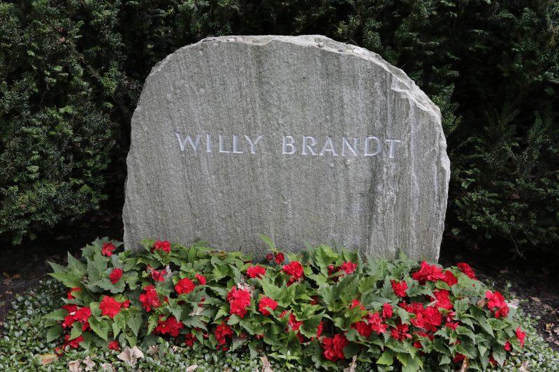 Berühmte Gräber in Berlin: Willy Brandt
